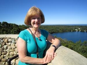 Linda at Scargo Tower 2013